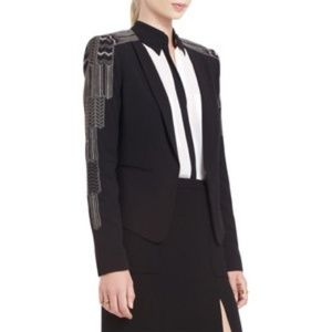 BCBGMAXAZRIA Bowie Embroidered Blazer Jacket
